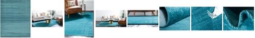 Bridgeport Home Axbridge Axb3 Teal 8' x 10' Area Rug