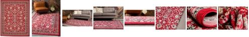 Bridgeport Home Arnav Arn1 Red 8' x 10' Area Rug