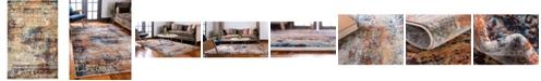 Bridgeport Home Marblesea Mrb4 Peach 5' x 8' Area Rug