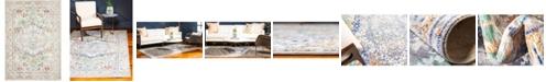 Bridgeport Home Malin Mal2 Light Gray 4' x 6' Area Rug
