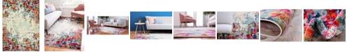 Bridgeport Home Crisanta Crs9 Multi 9' x 12' Area Rug