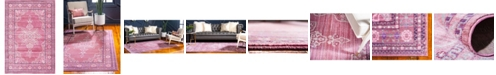 Bridgeport Home Malin Mal2 Pink 6' x 9' Area Rug