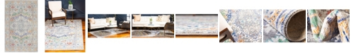 Bridgeport Home Malin Mal2 Light Gray 5' x 8' Area Rug