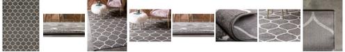 Bridgeport Home Plexity Plx2 Dark Gray 9' x 12' Area Rug