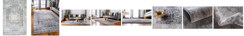 Bridgeport Home Agostina Ago1 Gray 4' x 6' Area Rug