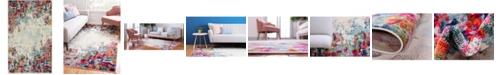 """Bridgeport Home Crisanta Crs9 Multi 3' 3"""" x 5' 3"""" Area Rug"""