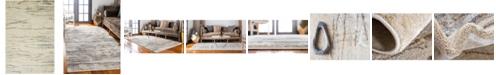 Bridgeport Home Aroa Aro9 Beige 4' x 6' Area Rug