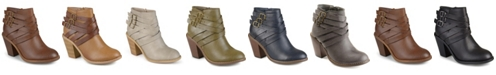 Journee Collection Women's Strap Boot