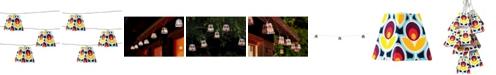 Allsop Home & Garden Soji Solar String Lights - Mod Tulip Solar Lantern