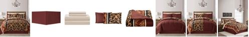 Fairfield Square Collection Carmen Reversible 8-Pc. Comforter Sets