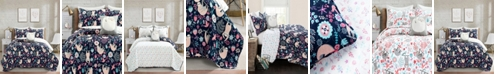 Lush Decor Hygge Sloth Reversible 3-Piece Twin Quilt Set