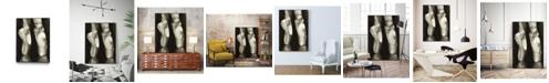 """Giant Art 36"""" x 24"""" Ballet Shoes II Art Block Framed Canvas"""