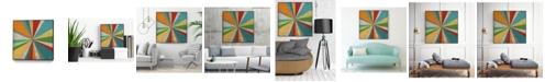 """Giant Art 20"""" x 20"""" Carnival Lights I Art Block Framed Canvas"""