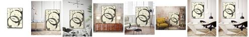 "Giant Art 20"" x 16"" Astro Burst III Art Block Framed Canvas"