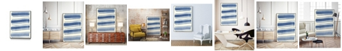 "Giant Art 32"" x 24"" Macrame III Art Block Framed Canvas"