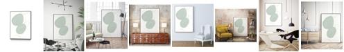 "Giant Art 14"" x 11"" Implied Motif I Art Block Framed Canvas"