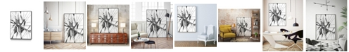 "Giant Art 24"" x 18"" Symbol Imprint II Art Block Framed Canvas"