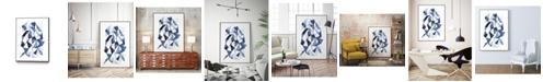 "Giant Art 32"" x 24"" Chrysalis II Art Block Framed Canvas"