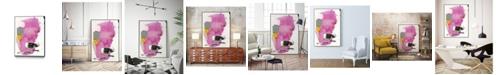 """Giant Art 14"""" x 11"""" Haiku V Art Block Framed Canvas"""