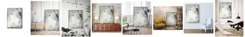 """Giant Art 32"""" x 24"""" Joule III Art Block Framed Canvas"""