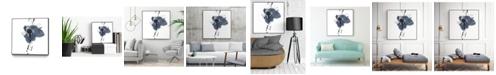 """Giant Art 20"""" x 20"""" Splash II Art Block Framed Canvas"""