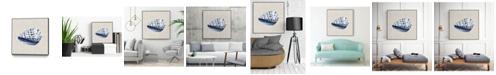 "Giant Art 30"" x 30"" Ocean Memento II Art Block Framed Canvas"
