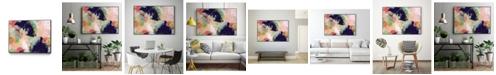 """Giant Art 40"""" x 30"""" Vibrant Spring I Art Block Framed Canvas"""