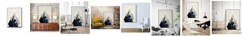 "Giant Art 24"" x 18"" Beneath the Surface III Art Block Framed Canvas"
