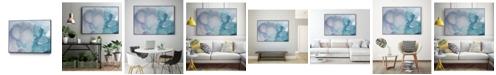 "Giant Art 36"" x 24"" Ice Crystals I Art Block Framed Canvas"