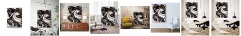 """Giant Art 40"""" x 30"""" Xinyang III Art Block Framed Canvas"""