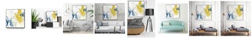 """Giant Art 20"""" x 20"""" Impulse I Art Block Framed Canvas"""