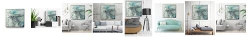 "Giant Art 20"" x 20"" Sea Lace I Art Block Framed Canvas"