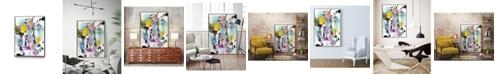 """Giant Art 24"""" x 18"""" Symphony I Art Block Framed Canvas"""