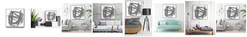 "Giant Art 30"" x 30"" Tessellation VI Art Block Framed Canvas"