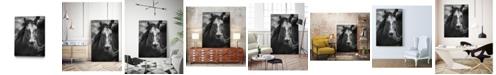 "Giant Art 32"" x 24"" Stallion III Museum Mounted Canvas Print"