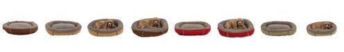 Carolina Pet Company Orthopedic Tipped Berber Round Comfy Cup Dog Bed
