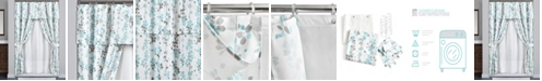 Lush Decor Weeping Flora 16Pc Shower Curtain Set