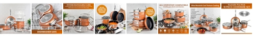 Gotham Steel Stack-Master 10-Pc. Cookware Set