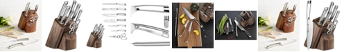 Cangshan N1 Series German Steel Forged 8-Pc. Knife & Walnut Block Set