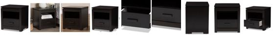 Furniture Bienna 1-Drawer Nightstand