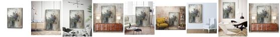 """Giant Art 28"""" x 22"""" Canyon Seasons IV Art Block Framed Canvas"""