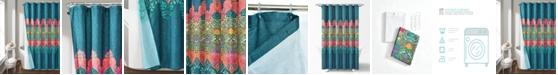 Lush Decor Boho Chic 14Pc Shower Curtain Set