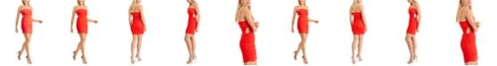 GUESS Aisha Ruched Cutout Slip Dress