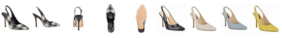 Nine West Women's Alison Snip Toe Slingback Pumps