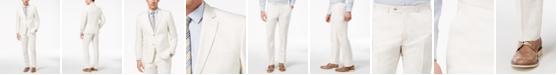 Perry Ellis Men's Slim-Fit Stretch White Suit