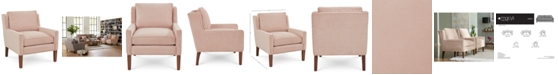 Jonathan Louis Emberli 39'' Fabric Accent Chair, Created for Macy's