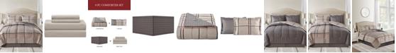 Sunham Cameron Reversible 8-Pc. Full Comforter Set