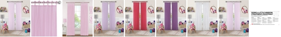 "Elrene Greta 50"" x 63"" Crushed Sheer Curtain Panel"