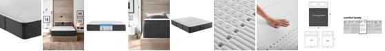 """Beautyrest Hybrid BRX1000-IP 13.5"""" Medium Firm Mattress - California King"""