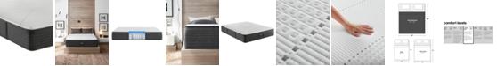 """Beautyrest Hybrid BRX1000-IP 13.5"""" Medium Firm Mattress - King"""